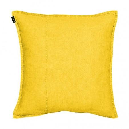 West pellava tyynynpäällinen 60x60cm, mustard yellow