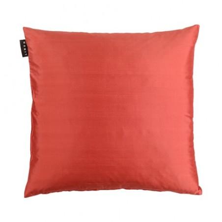 Silk tyynynpäällinen 40x40cm, deep coral red