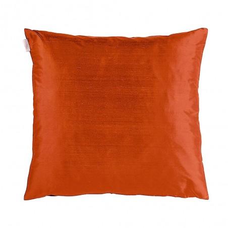 Silk tyynynpäällinen, rusty orange