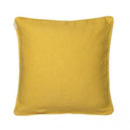 Leila tyynynpäällinen, yellow / linen