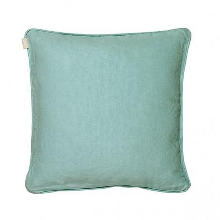 Leila tyynynpäällinen, turquoise / linen