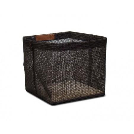 Box Zone 20x20cm, musta/ruskea