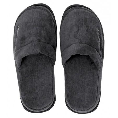 Premium slippers kylpytossut, antracite S