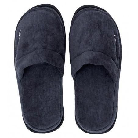 Premium slippers kylpytossut, sateen blue S