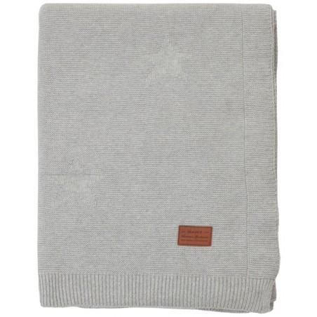 Allstar knit torkkupeitto 150x200cm, grey