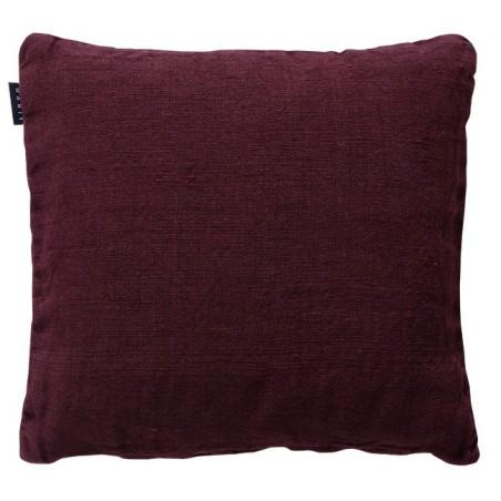 Raw tyynynpäällinen, dark burgundy red