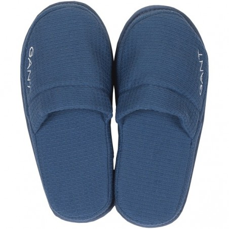 Waffle slippers, salty sea L