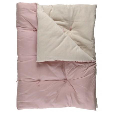Liberty puolipäiväpeite, dusty pink, 90x170 cm