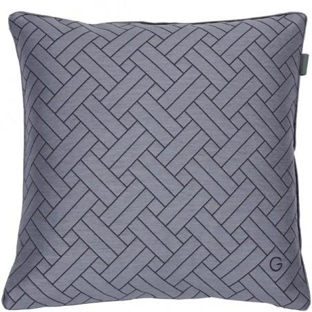 Oxford tyynynpäällinen, steel grey