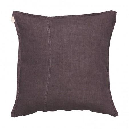 West pellava tyynynpäällinen 60x60cm, dawn purple