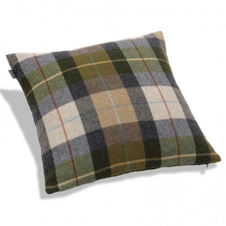 Coast check tyynynpäällinen, loden green