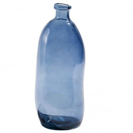 Lasipullo, blue