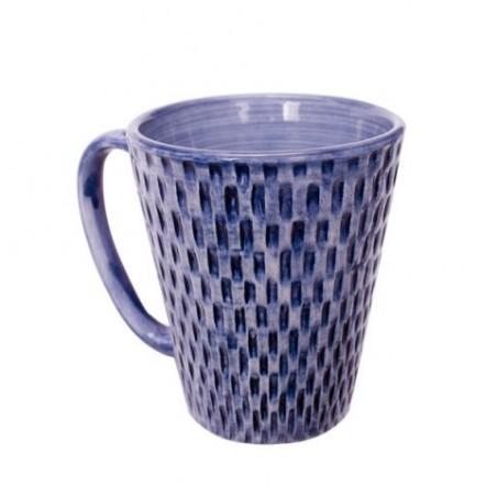 Basket weave muki, sininen