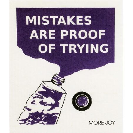 Tiskirätti, Mistakes