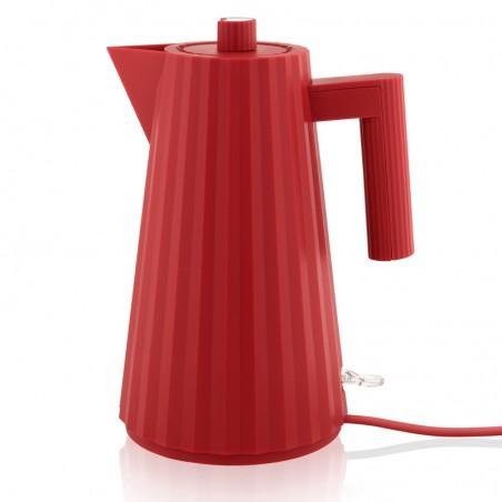 Plissé, vedenkeitin punainen 1,7L