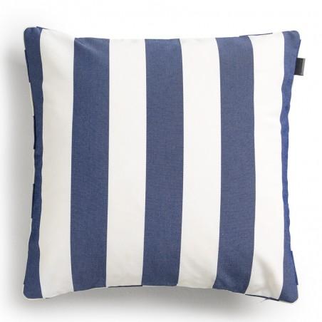 Block stripe säänkestävä tyynynpäällinen, marine