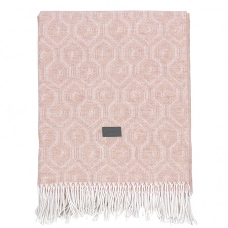 Graf throw torkkupeitto, tan rose