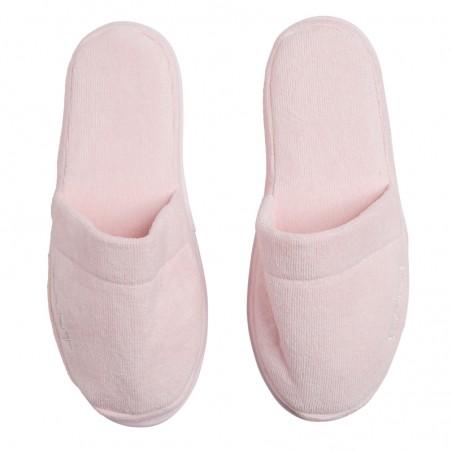 Organic Premium slippers kylpytossut, nantucket pink S