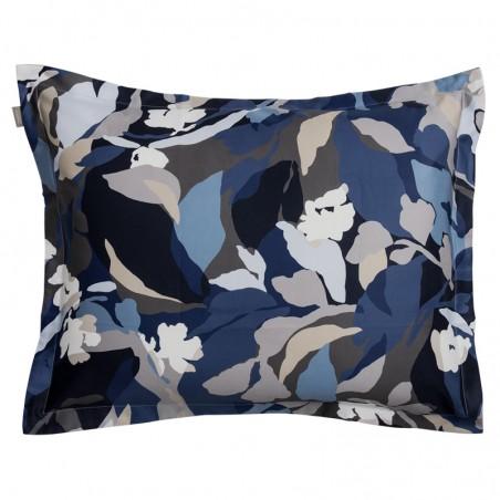 Splendid floral tyynyliina, indigo blue
