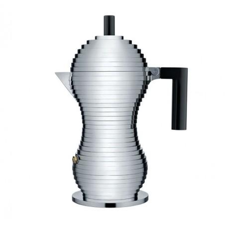 Pulcina espressokeitin, 6:n kupin, musta