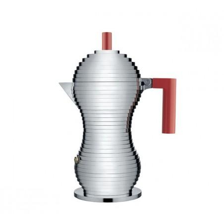Pulcina espressokeitin induktio, 3:n kupin, punainen