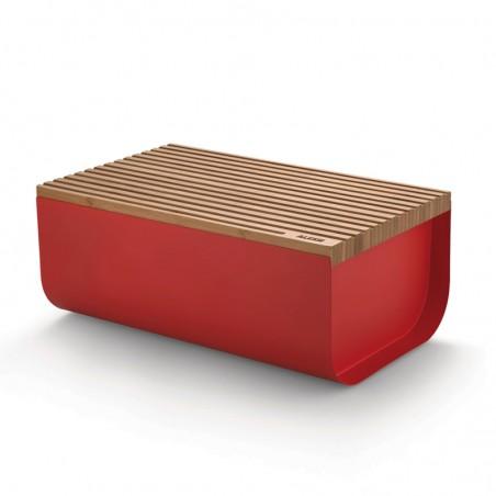 Mattina leipälaatikko, punainen