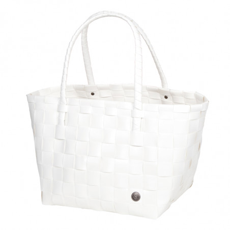 Paris shopper korikassi, white
