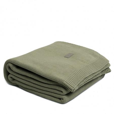 Jersey knit throw torkkupeitto, alfalfa green