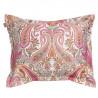 Key West Paisley tyynyliina, sea pink
