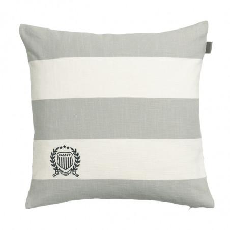 Rugby stripe tyynynpäällinen, harmaa