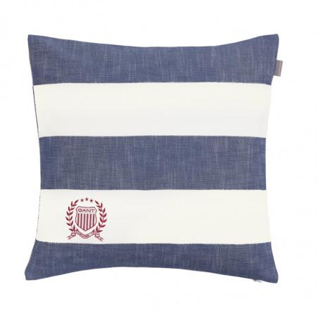 Rugby stripe tyynynpäällinen, moonlight blue