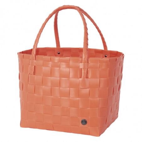 Paris shopper korikassi, coral orange