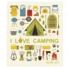 Tiskirätti, I love camping