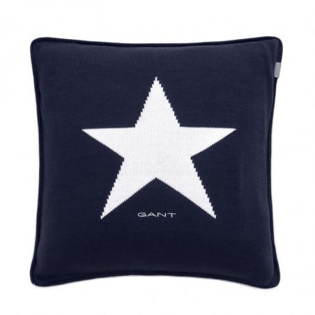 Star knit tyynynpäällinen, marine tumman sininen