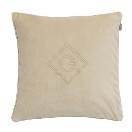 Velvet cushion tyynynpäällinen 50x50cm, warm khaki