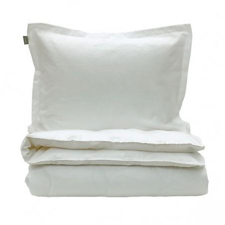 Linen Blend Solid aluslakana 180x280cm, valkoinen