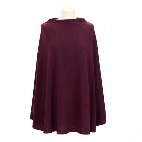 Poncho, port red