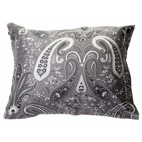 Key West Paisley tyynyliina, elephant grey